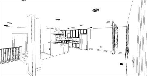 Stu & Denise Essman Kitchen-Living Room(Floor Plan)After3D1