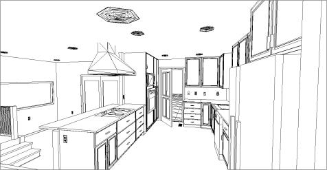 Stu & Denise Essman Kitchen-Living Room(Floor Plan)After3D3